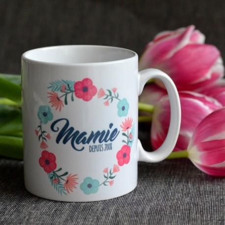 Mug Mamie depuis (personnalisé)