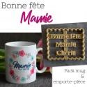 Pack Bonne Fête Mamie - Emporte-pièce et Mug