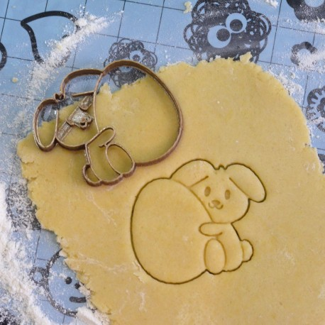 Egg and Rabbit cookie cutter