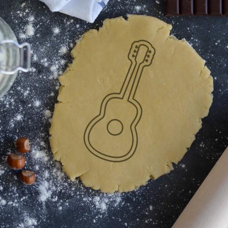 Guitar cookie cutter
