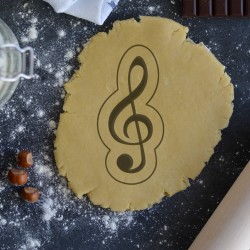 Music Key cookie cutter