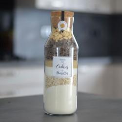 Préparation pour Cookies aux noisettes - Bouteille