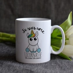 Mug Je suis une licornasse