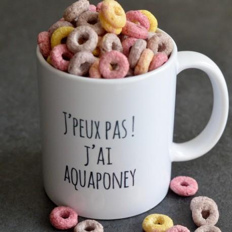 Mug J'peux pas ! J'ai Aquaponey