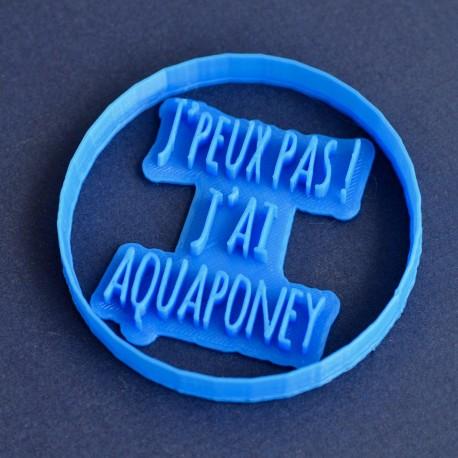 Emporte-pièce et Tampon à biscuit Aquaponey