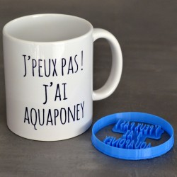Aquaponey gift pack - Mug and cookie stamp