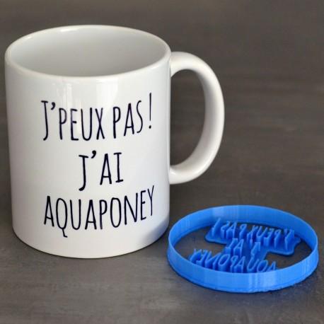 Pack Aquaponey - Emporte-pièce et Mug