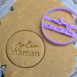 Jolie Maman cookie cutter