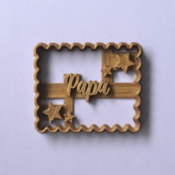 "Petit Beurre ""Papa"" cookie cutter"
