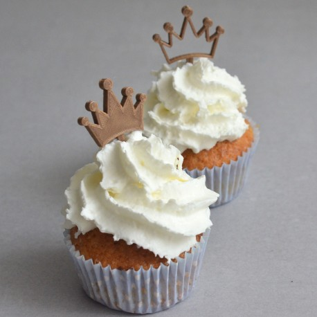 Cupcake Topper Couronne