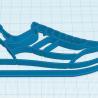 Lot de 3 Emporte-pièces Basket - Sneakers