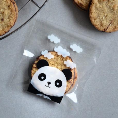 Sachets pour biscuits et confiserie - Panda