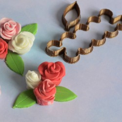 Flower fondant cookie cutter