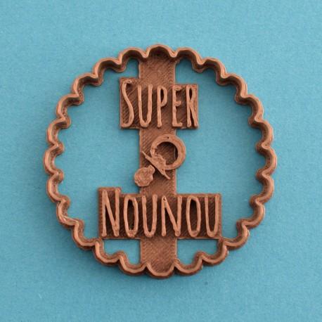 """Nounou en Or"" cookie cutter - Nurse"