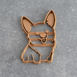 Corgi cookie cutter - Dog