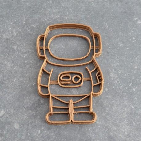 Astronaut cookie cutter - Cosmonaut