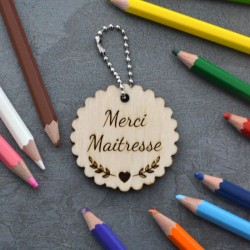 Merci Maitresse Key ring