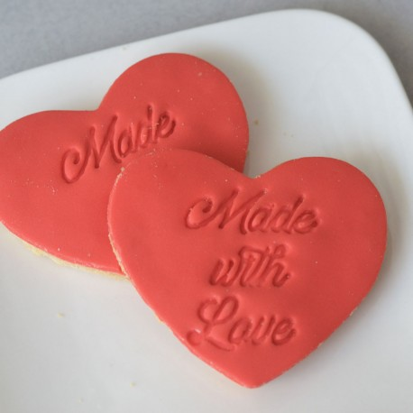 Cookie stamp Made with Love