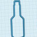 Emporte-pièce Bouteille 12 cm
