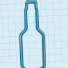 Bottle cookie cutter - 10 cm