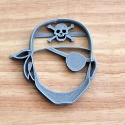 Emporte-pièce Tête de Pirate