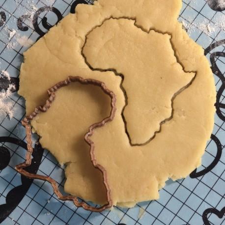 Africa cookie cutter