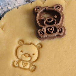 Bear Cookie stamp
