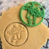 Monkey cookie cutter