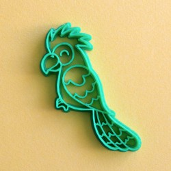 Parrot cookie cutter V2