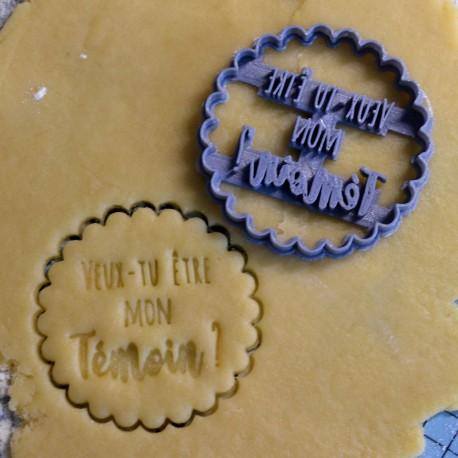 Témoin cookie cutter - Wedding