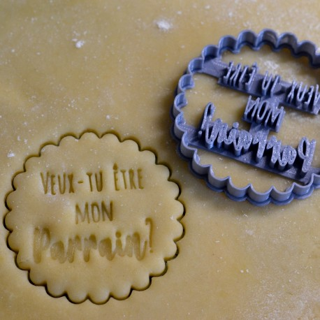 Godfather cookie cutter