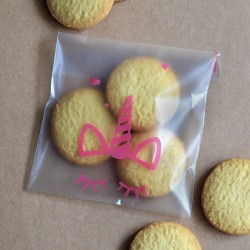 Sachets pour biscuits et confiserie - Licorne
