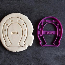 Custom Horseshoe cookie cutter - Personalized