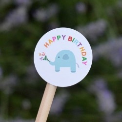 Elephant stickers for Candy bags