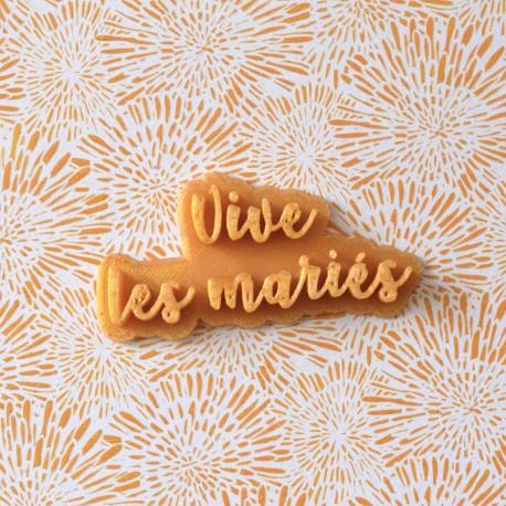 Tampon Vive les mariés