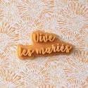 Vive les mariés Cookie Stamp