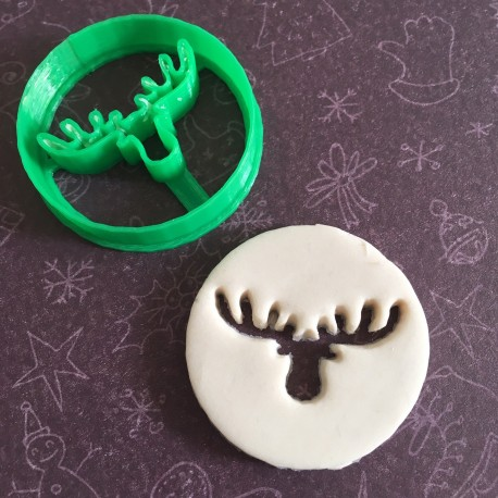 Moose or Reindeer cookie cutter