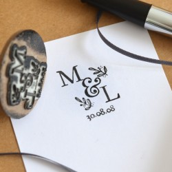 Custom Monogram stamp
