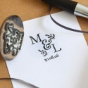 Tampon Monogramme personnalisable