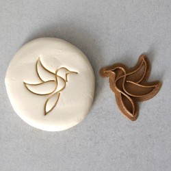 Humming Bird Cookie Stamp