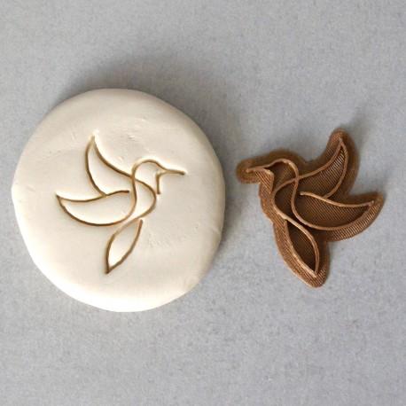 Tampon à biscuit Colibri