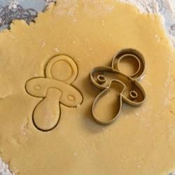 Pacifier cookie cutter