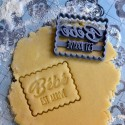 """Petit Beurre """"Baby is coming"""" cookie cutter - Pregnancy"""