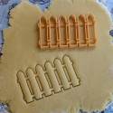 Fence cookie cutter