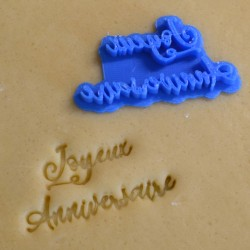 Joyeux anniversaire V1 Cookie Stamp