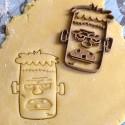 Frankenstein cookie cutter