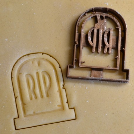 Tomb stone RIP cookie cutter