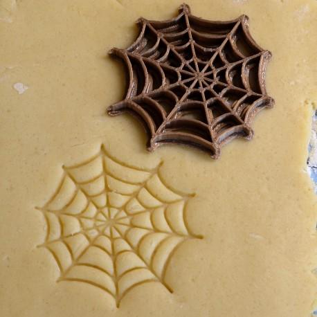 Tampon à biscuit toile araignée