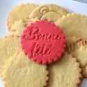Bonne fête Cookie Stamp