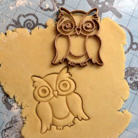 Owl cookie cutter V2
